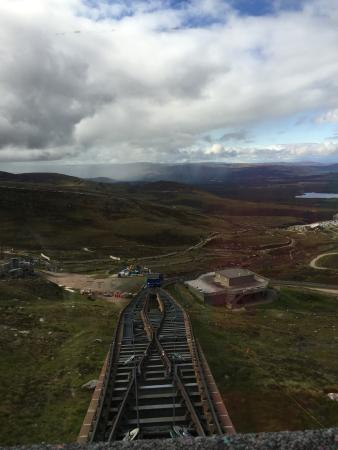 Aviemore, UK: the track...