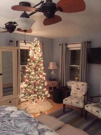 christmas decorations in tupper room picture of barcelona lakeside rh tripadvisor com