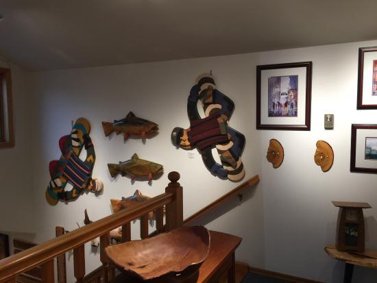 La Conner, WA: 非常漂亮的木頭店