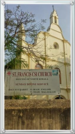 Kochi Travel Guide - Day Tours: St Francis Church. First European Church