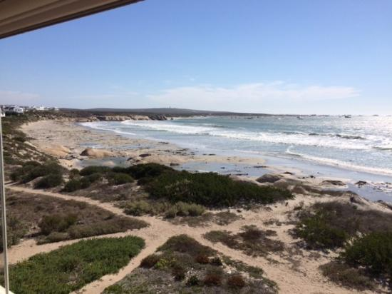 Paternoster, Güney Afrika: Views from the breakfast verandha