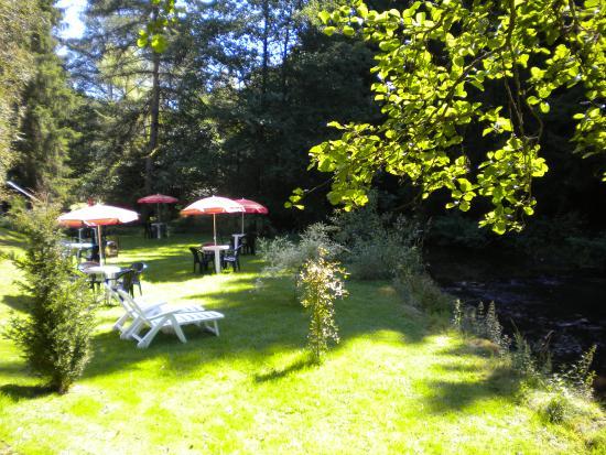 Jardin foto van le bistrot des saveurs houffalize for Jardin 1001 saveurs
