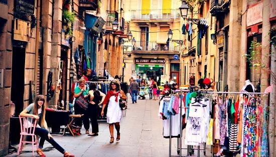 Riera Baixa Street