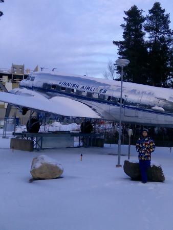 Vantaa, فنلندا: Перед входом в музей