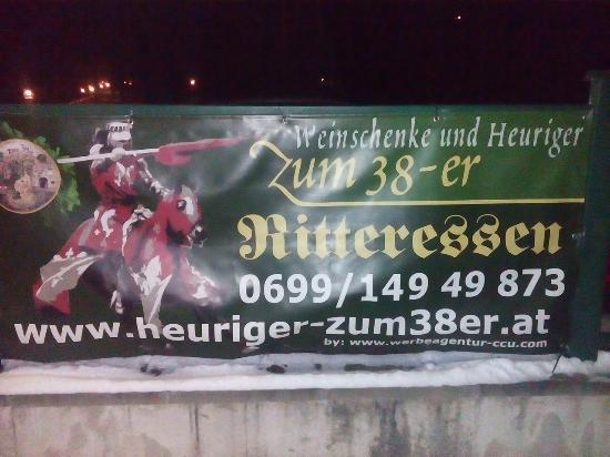 Перхтольдсдорф, Австрия: Ritteressen beim 38er