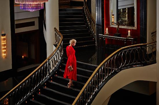 Corinthia Hotel St. Petersburg: Magnificent lobby of Corinthia Hotel St.Petersburg