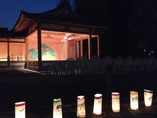 Suginami, Japan: 神楽殿では、JAZZ, バリ舞踊なども開催されます