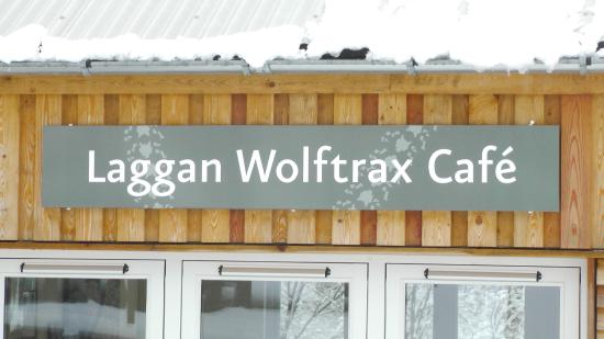 Laggan, UK: Wolftrax Cafe, fresh coffee, home baking, hot rolls, speciality burgers all served every day.