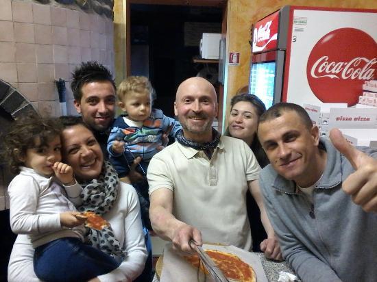 pizza in compagnia