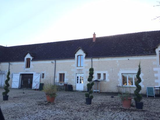 Saint-Georges-sur-Cher, Fransa: La bâtisse