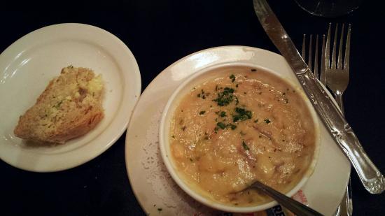 Jacksonville, OR: Scrumptious salmon potato bisque.