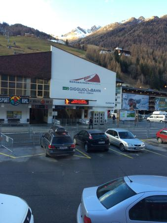 Solden, Autriche : вход