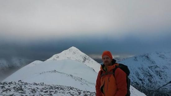 Kinlochleven, UK: The man himself, Rich Mountain
