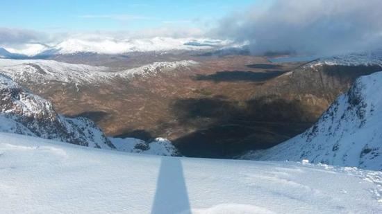 Kinlochleven, UK: The view from Buchaille Etive Mor