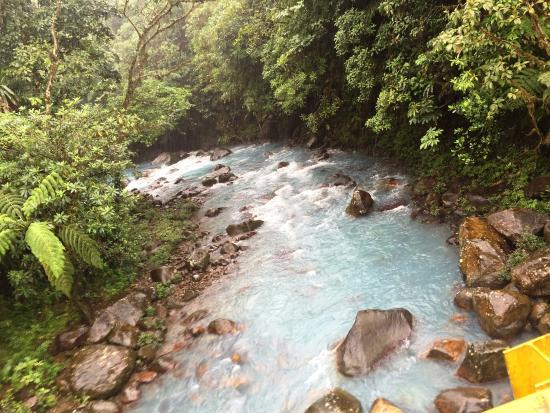 Carate, Κόστα Ρίκα: Rio Celeste