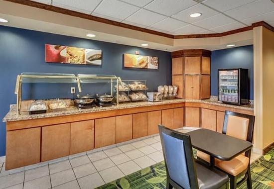 Jacksonville Beach, Floryda: Breakfast Area