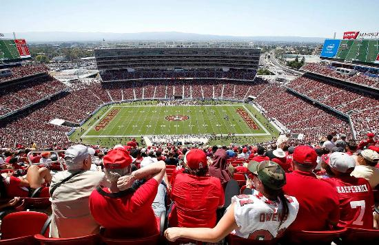 Campbell, Californie : Levi's Stadium Interior