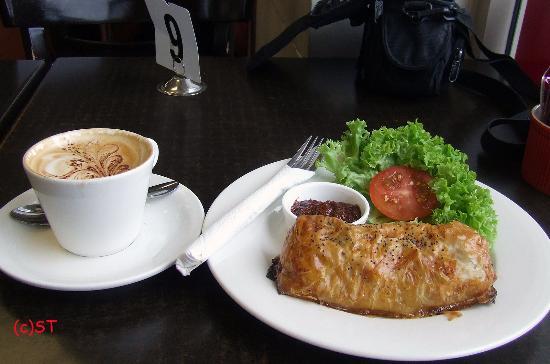 Pukekohe, Nova Zelândia: Bacon Mushroom Filo