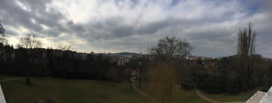 Brno, Tjeckien: View from the villa
