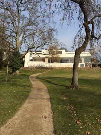 Brno, República Checa: villa from the garden side