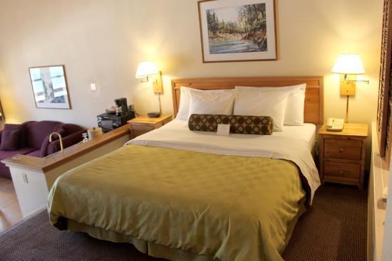 Bass Lake, Kalifornia: Suite king bed