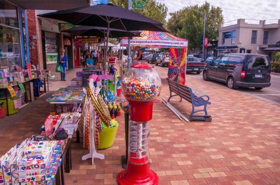 Mornington, Avustralya: Street stalls