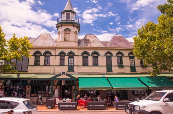 Mornington, Australië: Views over the Grand Hotel
