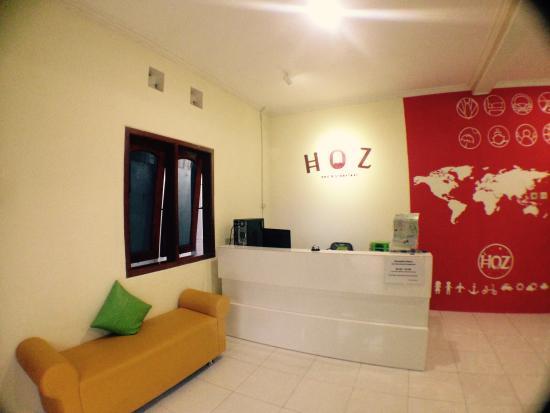 lobby picture of hoz bed breakfast yogyakarta region tripadvisor rh tripadvisor com