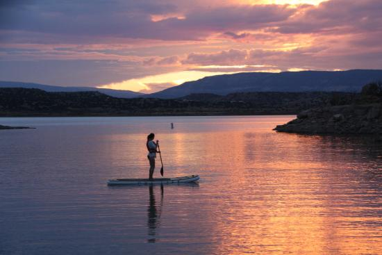 Ojo Caliente, Nuovo Messico: Stand up Paddle Boards available for guest use