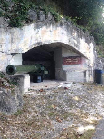 Rota, Mariany: Old Japanese Cannon