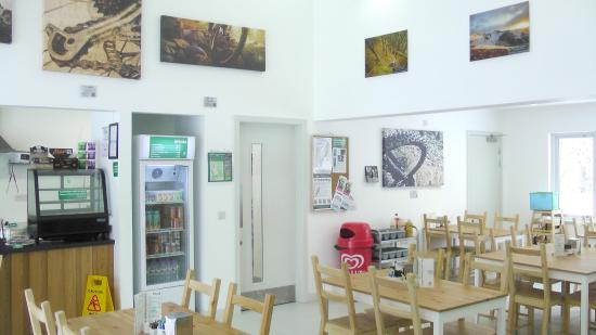 Laggan, UK: Inside the cafe