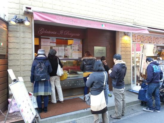 Kamakura Komachidori : ジェラート屋さん、ブリガンテ、店主はエミリオ