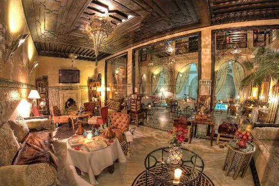 Riad Dar Anika: Lounge.