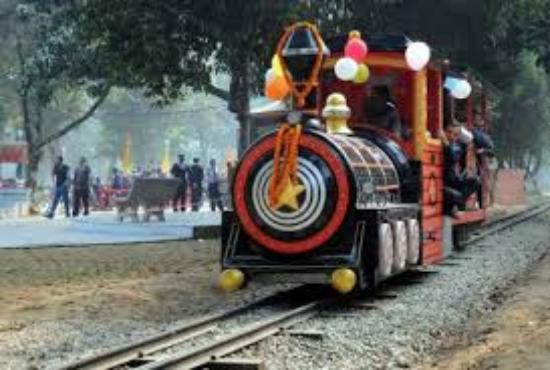 Ludhiana, Indien: Inaugration Day of Joy Train