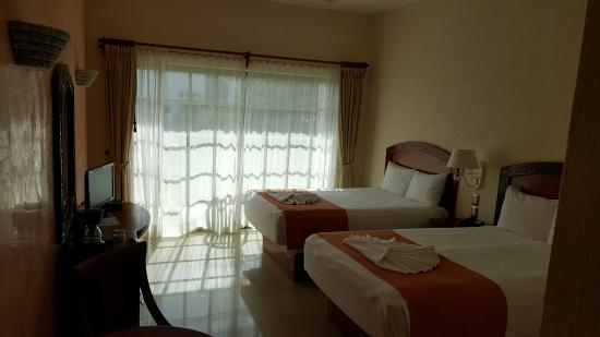 Hotel Posada Sian Ka'an: 2 double beds