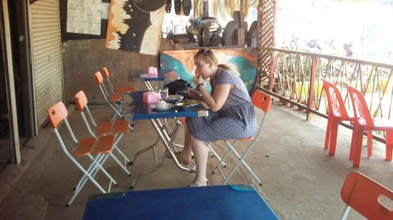 Banlung, Kamboçya: My Breakfasy