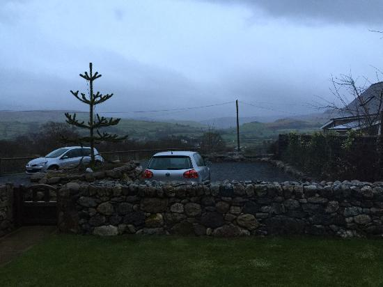 Llanuwchllyn, UK: view from the downstairs bedroom