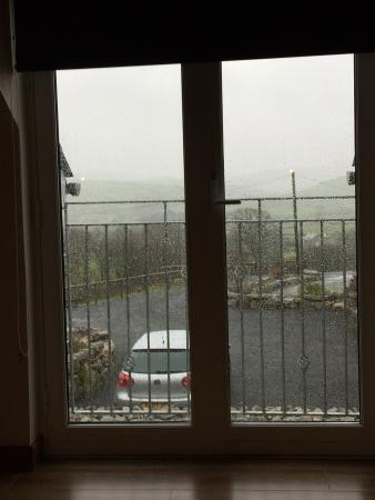 Llanuwchllyn, UK: view from the living room upstairs