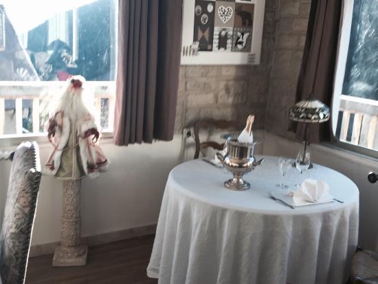 Auron, France : Salle sublime  vue panoramique cadre exceptionnel cuisine excellente à ne pas manquer et à faire