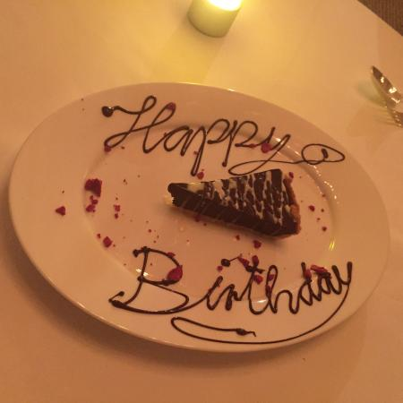 Alexandrie Restaurant Free Birthday Cake