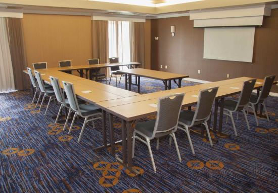 Rocky Mount, Βόρεια Καρολίνα: Courtyard Meeting Room - U-Shape Setup
