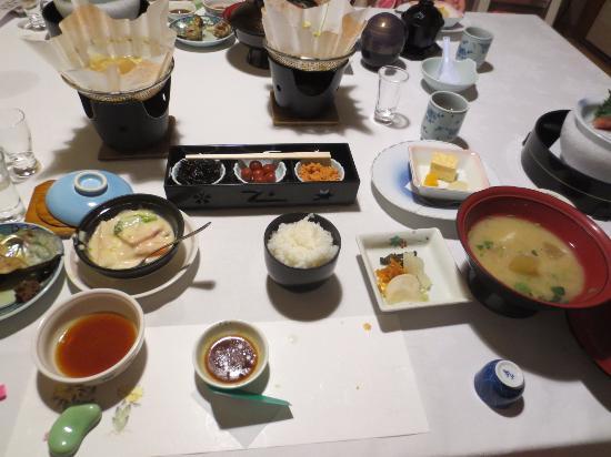 Hotel Futaba: 白米はコシヒカリです