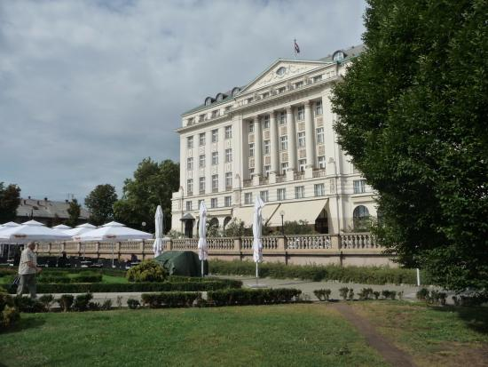 Esplanade Zagreb Hotel: The famous hotel, once on the Orient Express route.