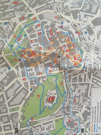 Μπρνο, Τσεχική Δημοκρατία: Brno map