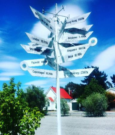 Blenheim, Nuova Zelanda: Entrada al museo