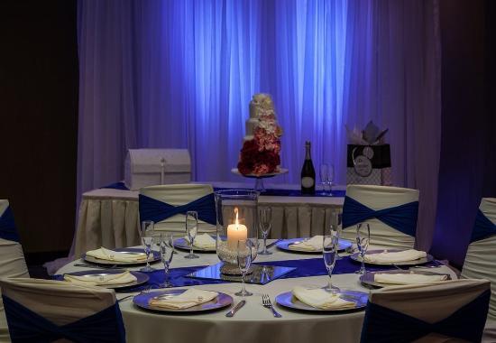 Richland, واشنطن: Riverview Hall - Reception Setup