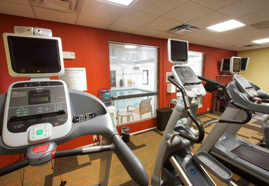 Blacksburg, Вирджиния: Fitness Room - Cardio Equipment