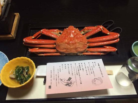 Kyotango, Japão: 一人に一杯の蟹が・・