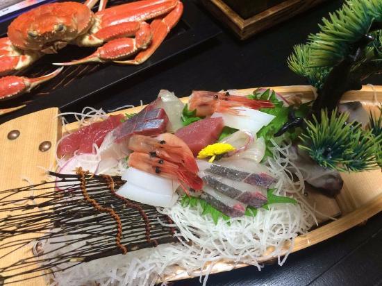Kyotango, Japão: 刺身盛り合わせ