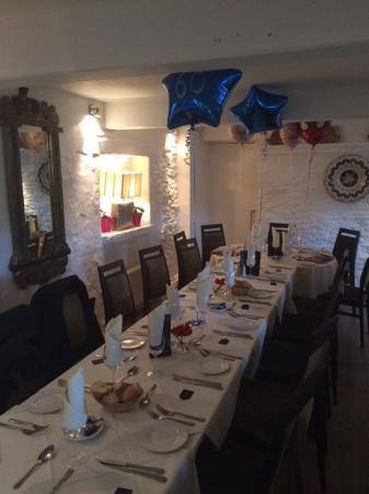 Рочдейл, UK: Table set!
